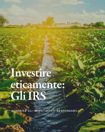 Investimenti socialmente responsabili: investire con etica